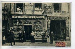 75 PARIS Carte RARE Ecrite Par Commercant LOUYS COiffeur PARFUMERIE Du HAVRE PLace Du Havre   1905 Timb   /D06-S2017 - Arrondissement: 09