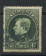 20F Ø  Montenez  Roi Albert De Belgique  Bon Ex. Oblitéré En Bleu 1934 Cote 25 Euros - 1929-1941 Grand Montenez