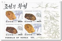 Noord Korea 1994, Postfris MNH, Fossils - Korea (Noord)