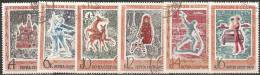 Russia 1970 Usato - Yv. 3670/75 - 1923-1991 URSS