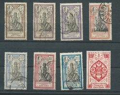 Indes Francaise - Lot 8 Timbres Oblitérés Ou * , Bon état -  Aoa 24204 - Unused Stamps