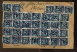 8-10-1923  Jolie Lettre Inflation, Pour Spécialiste - Germany
