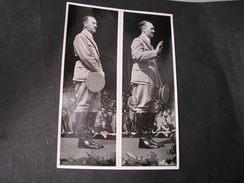 Adolf Der Redner , Foto   Gr. Sammelbild  36  , Rückseite Text - Deutschland