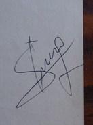 Autographes : Trésor - Chiesa - Beretta - Football Nostalgie - Coupe De France 76 - Autographes
