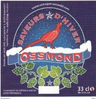 Etiquette (label) De Biere Française  ( Beer, Cerveza, Birra, Bier);Micro-Brasserie (67290) - Beer
