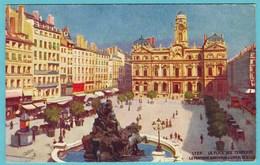 CPA  69 LYON Fontaine Bartholdi ( Editeur TUCK ) - Lyon