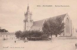 CPA 22 PLOUARET L'EGLISE PAROISSIALE - Plouaret