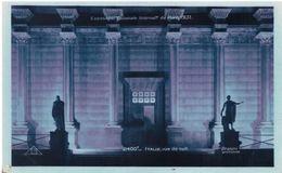 Paris Exposition Coloniale Internationale 1931 Vue De Nuit Italie - Exhibitions