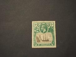 ST. HELENA - 1922 VELIERO 1 P.- NUOVO(+) - Isola Di Sant'Elena