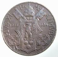 1933-1934 - Vatican -  PIO XI  - 5 Centesimi - KM11# - Vaticano
