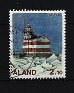 ALAND-INSELN Mi-Nr. 60 Leuchttürme Gestempelt (2) - Ålandinseln