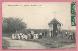 25 - MONTENOIS - Chapelle - Route De Lougres - Non Classés