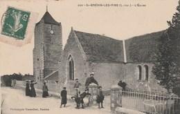 CPA 44 SAINT-BREVIN LES PINS L'EGLISE ANIMEE - Saint-Brevin-les-Pins