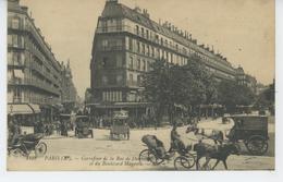 PARIS - Xème Arrondissement - Carrefour De La Rue De Dunkerque Et Du Boulevard Magenta - Distretto: 10