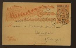 Entier Postal Carte Palmier  Surcharge Locale