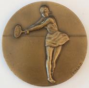 MEDAILLE TENNIS FINALISTE MINIME HIVER 80-81 - DRAGO - Tennis