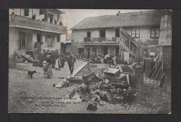 CPA : Dépt.75. PARIS . Grandes Inodations De 1910. Après Le Retrait Des Eaux Rue Felicien David  . Animation - Paris Flood, 1910