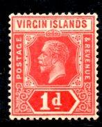 R1450 - BRITISH VIRGIN ISLANDS , 1 Penny Wmk Multi CA * - British Virgin Islands