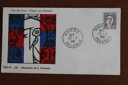 1961    -     MARIANNE  DE  COCTEAU - 1960-1969