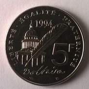 5 FRANCS 1994 - VOLTAIRE - Superbe +++ - - France