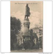 VLLDLTPA3527CPA-LFTMD5950TCEESC.Tarjeta Postal DE VALLADOLID.Escritor,Monumento Y Estatua De  ZORRILLA En VALLADOLID - Escritores