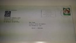 GULF WAR Solidarietà E Gratitudine Ai Militari Alleati Nel Golfo Targhetta Annullo Cancel 1991 Pescara Soldier Army - Militaria
