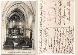 GRAND SERRE - Intérieur De L' Eglise  - Cachet Militaire   (96224) - Autres Communes