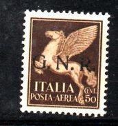 R1466 - RSI 1944 , Posta Aerea N. 118  Senza Gomma - 4. 1944-45 Repubblica Sociale