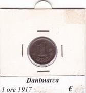 DANIMARCA   1 ORE  1917  COME DA FOTO - Danimarca