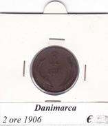 DANIMARCA   2 ORE  1906  COME DA FOTO - Danimarca