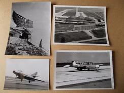 PHOTOS AVIATION BASE AERIENNE 115 ORANGE AVION SMB2 SUPER MYSTERE B2 MORANE SAULNIER PARIS I RADARS - Aviation