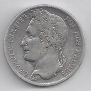 LEOPOLD I  5 Frank  1848    ZEER FRAAI -   -  M14 - 11. 5 Francs