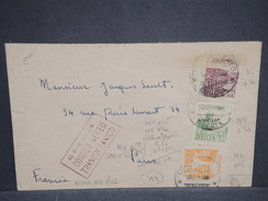 COLOMBIE - Enveloppe De Bagota Pour Paris En 1946 , Affranchissement Recto Et Verso + Cachet - L 6887 - Colombia