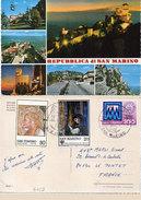 SAN MARINO - Vues Multiples Timbres   (96234) - Saint-Marin