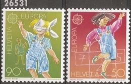 1989 - YT 1323 à 1324 ** - VC: 2.50 Eur. - Switzerland