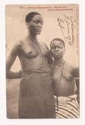 Seins Nus Jeunes Filles Dahoméennes Scarification - Africa Meridionale, Occidentale E Orientale