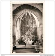 LCRÑTP5868CPA-LFTMD5775TBES.Tarjeta Postal DE CORUÑA.Edificios.retablo De LA VIRGEN DE AZOGUE.BETANZOS.La Coruña - Esculturas