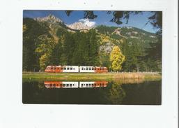 LES PRAZ DE CHAMONIX AUTOMOTRICE Z 800 TRAIN N° 58920 LE CHATELARD -ST GERVAIS 25 OCTOBRE 2000 - Chamonix-Mont-Blanc