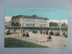 CPA 14 DEAUVILLE ROYAL HOTEL ET LE JARDIN - Deauville
