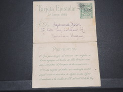 URUGUAY - Entier Postal Pour Montevideo En 1885 - L 6902 - Uruguay