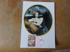 FRANCE (1969) CROIX ROUGE Tableaux De Nicolas Mignard - Maximum Cards