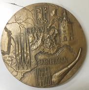 MEDAILLE BRONZE 1969 - TRAIN GENEVE BARCELONE PAR PH. ROCH - France