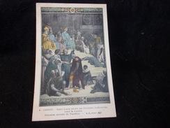 Peintures Murales Du Panthéon.N°4 . Cabanel . Saint - Louis Rend La Justice. - Peintures & Tableaux