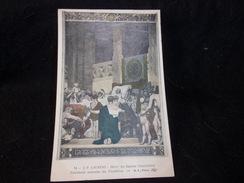 Peintures Murales Du Panthéon.N°14 . Laurens . Mort De Sainte - Geneviève. - Peintures & Tableaux