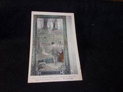 Peintures Murales Du Panthéon.N°25 .Puvis De Chavannes . Sainte - Geneviève En Prière. - Peintures & Tableaux