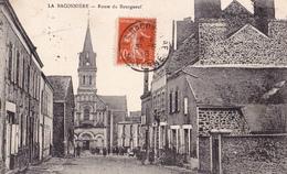 LA BACONNIERE  53  ( ROUTE DE BOURGNEUF ) 1916 - Otros Municipios