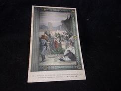 Peintures Murales Du Panthéon.N°30.Puvis De Chavannes .  Sainte - Geneviève Ravitaille Paris. - Paintings