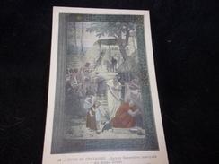 Peintures Murales Du Panthéon.N°32.Puvis De Chavannes .  Sainte - Geneviève Marquée Du Sceau Divin. - Peintures & Tableaux