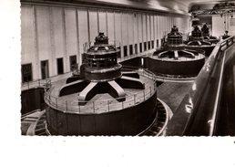 01---GENISSIAT--intérieur De L'usine.grande Salle Des Alternateurs---voir 2 Scans - Génissiat
