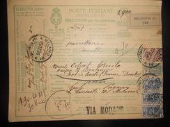 Italie , Colis-postaux Carte De Milano 1925 En L Etat - 1900-44 Victor Emmanuel III.